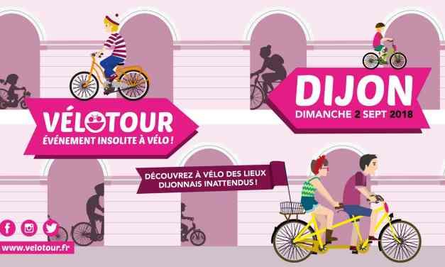 Vélotour Dijon : 20 sites insolites à découvrir à vélo le 2 septembre !