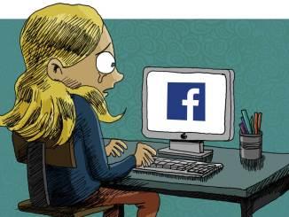 """Dessin """"cyber harcèlement"""" © Pierre Roussel"""
