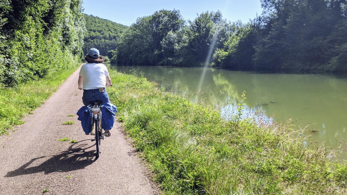 La Voie verte du Canal de Bourgogne