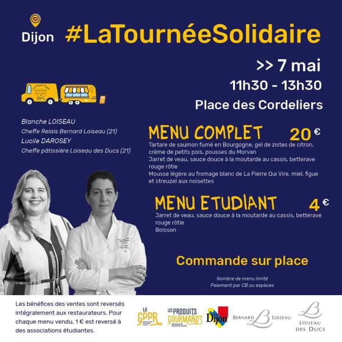 Le menu de Blanche Loiseau