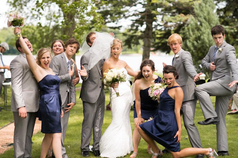 bridal-party-wedding-blue-gray-green-fun