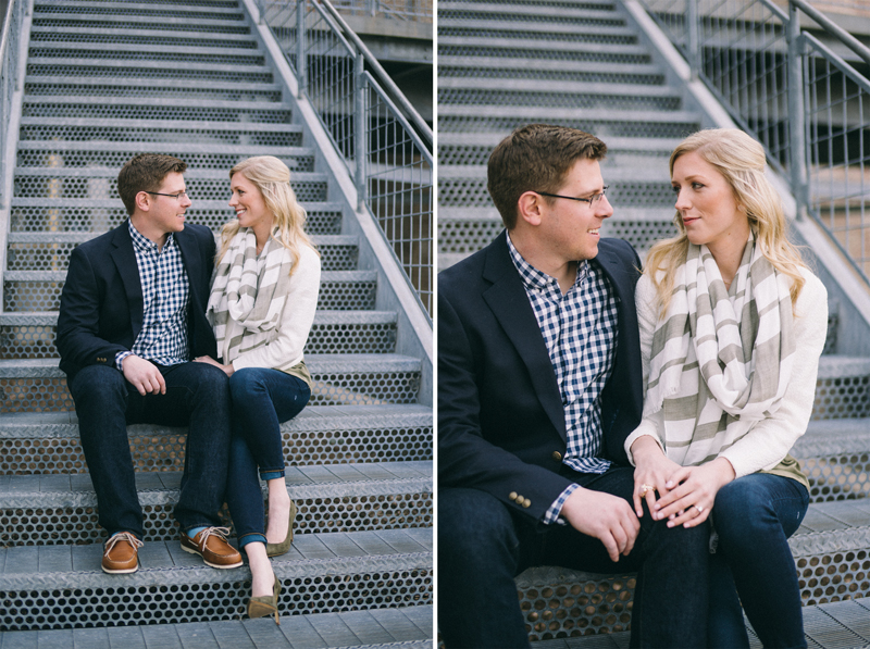 River District Minneapolis engagement photos
