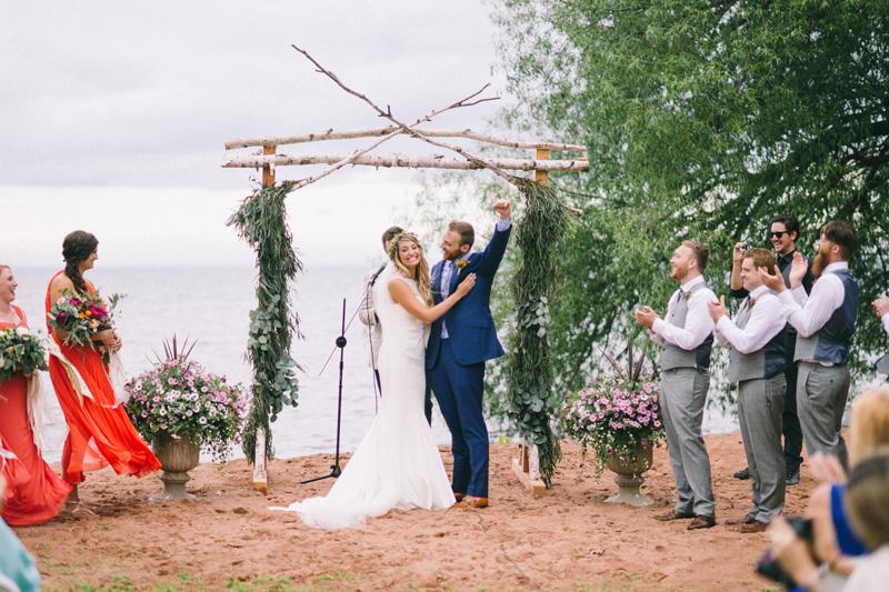 bayfield wisconsin wedding photography