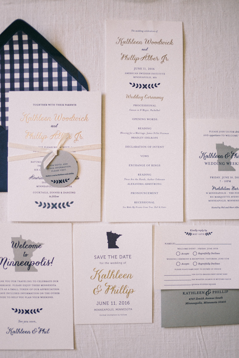 American Swedish Institute wedding
