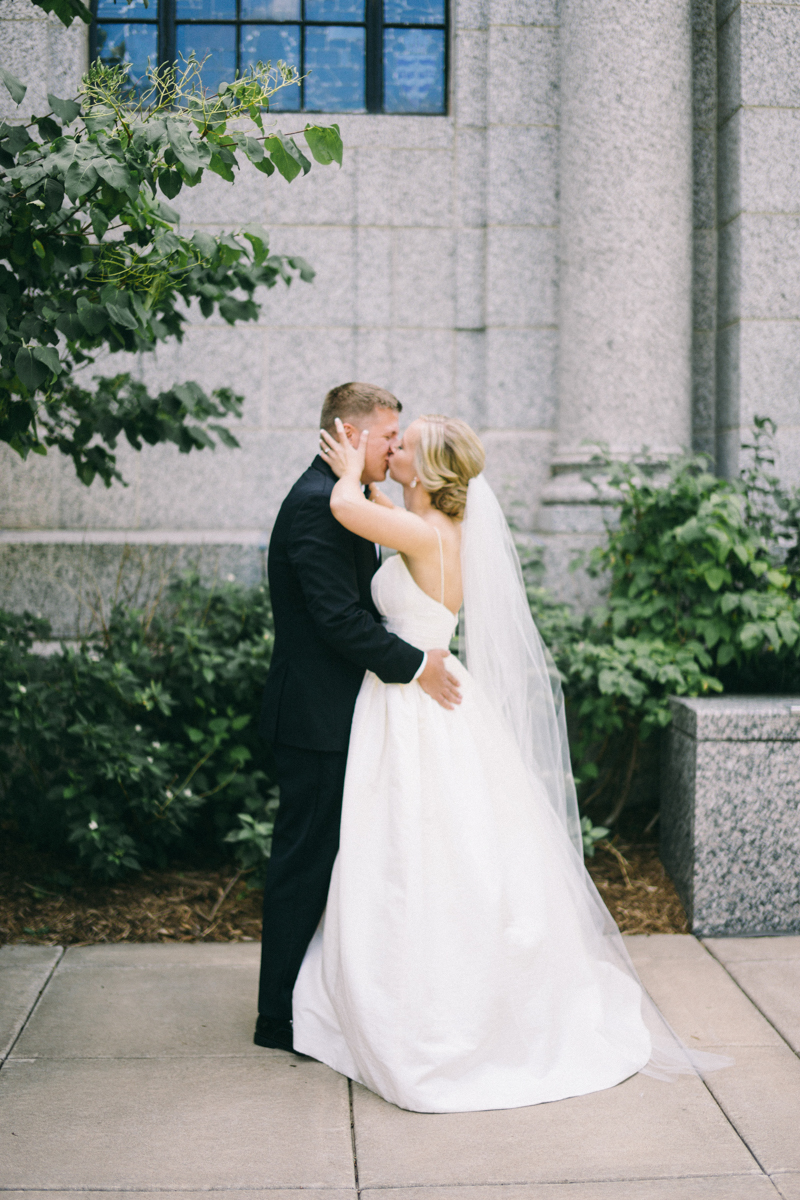 Cathedral of St Paul Summer Wedding