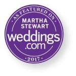 As featured on Martha Stewart Weddings