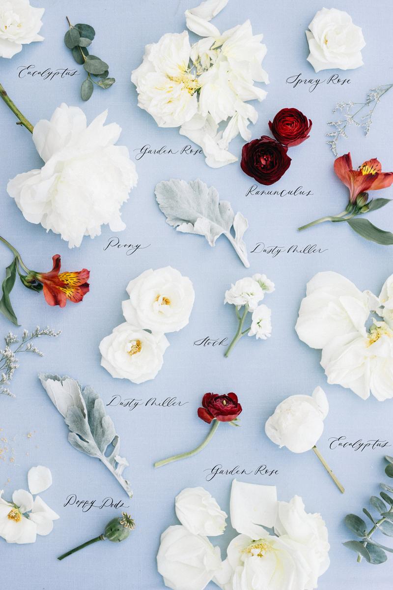 Heirloom Bouquet Cliff Wedding Maine