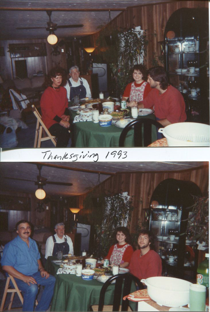 Way back to Thanksgiving 1993