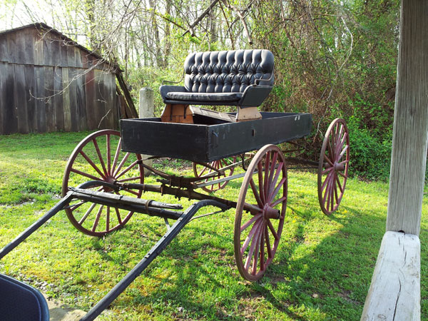 old carriage buggy