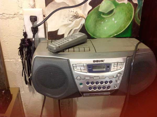 my old boom box