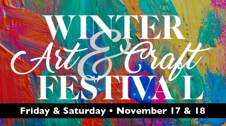 Winter Fine Art and Craft Festival coming! A new venue for me
