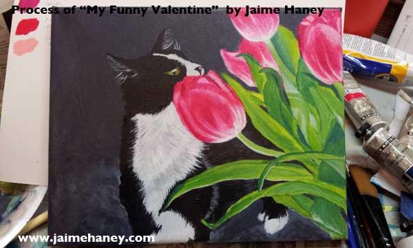 phase five-refining tulips and darkening shadows