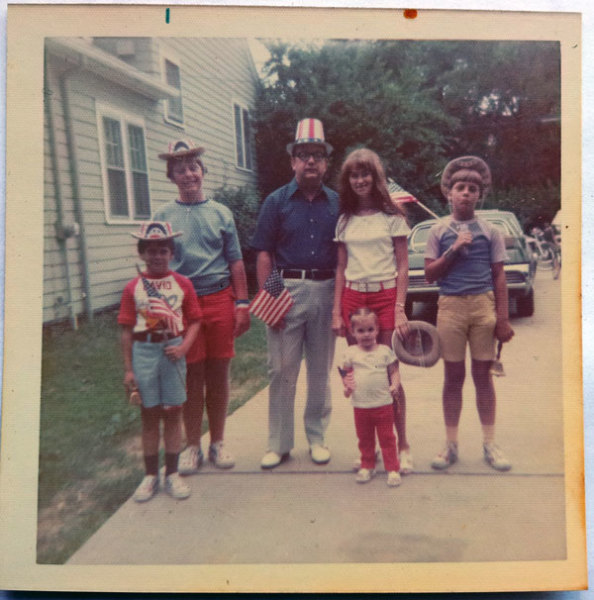 old photo from July 4th 1972