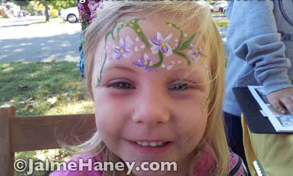 Face Painting Saturday Or How To Attract Kids Like Flies
