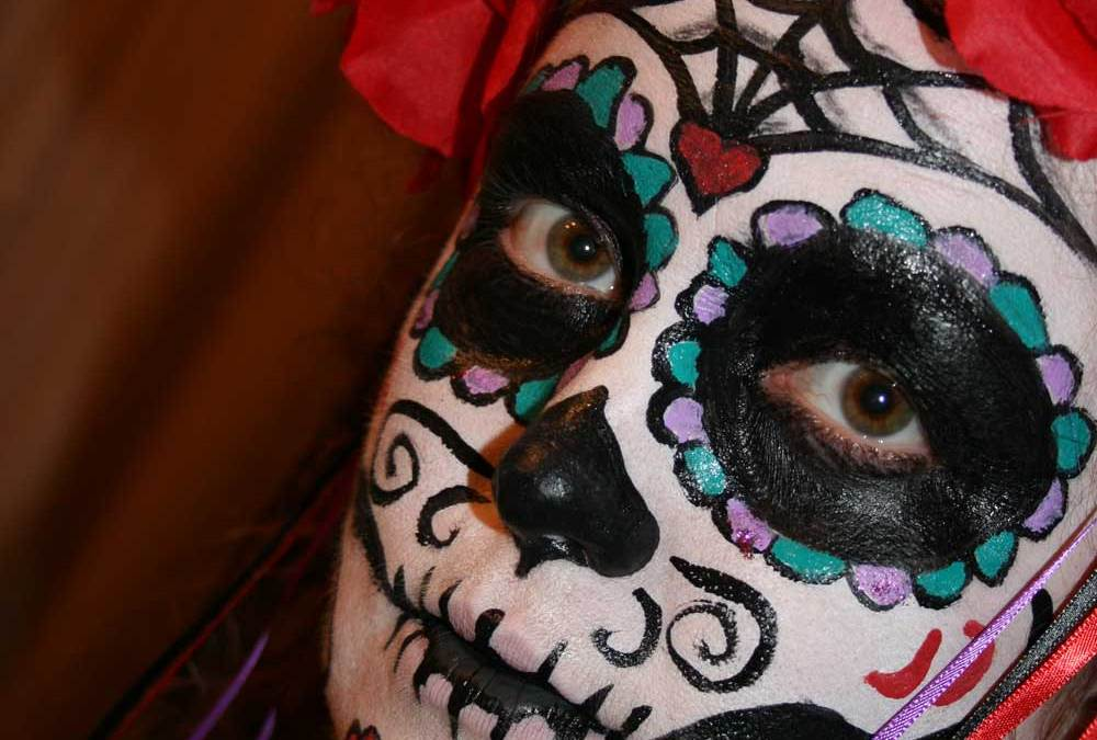 Sugar Skull Halloween Costume 2011