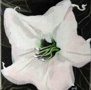 Moon Flower Majesty painting