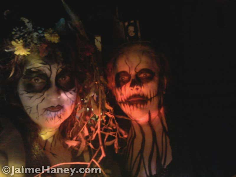 Evil Woodland Fairy & Frightful Carnival Macabre