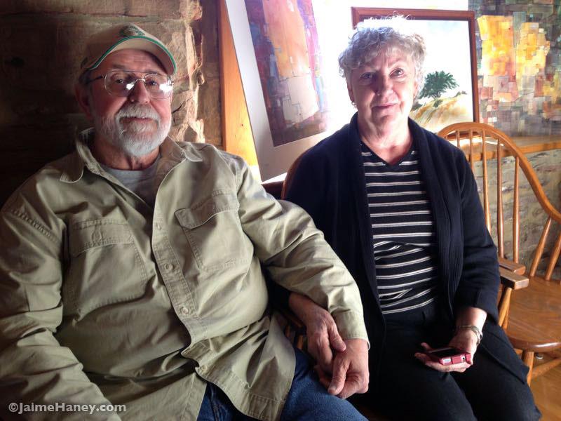 Ron and Carole Leonhardt