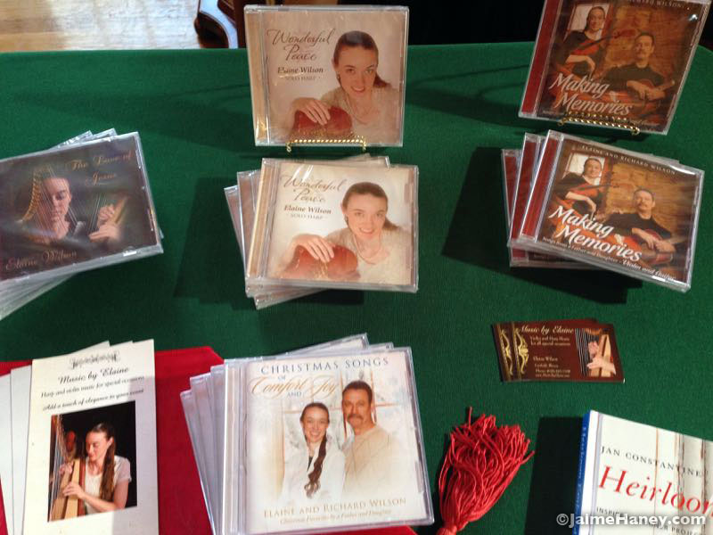 Music by Elaine, cd's for sale