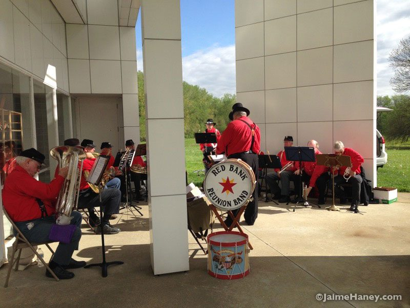 Red Bank ReUnion Band at Heritage Artisans Days in New Harmony Indiana 2016