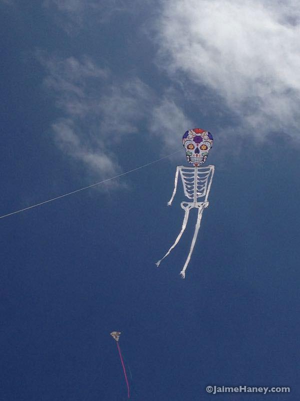dia de los muertos kite