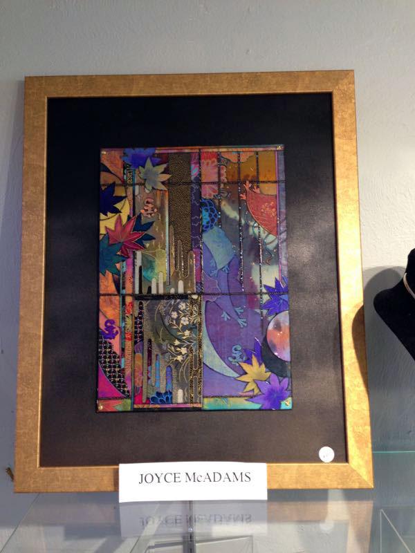 mixed media art by Joyce McAdams