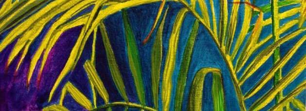 Painting 1 Majesty Palm