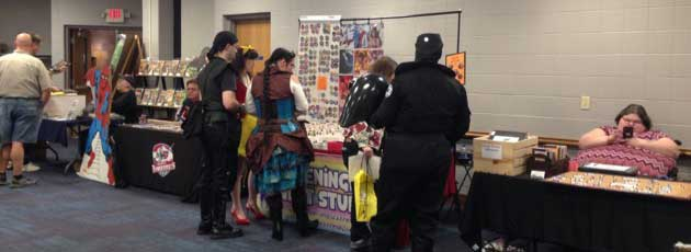 Fun at the Mini Con in Mt. Vernon, Indiana