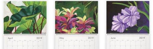 April - June paintings