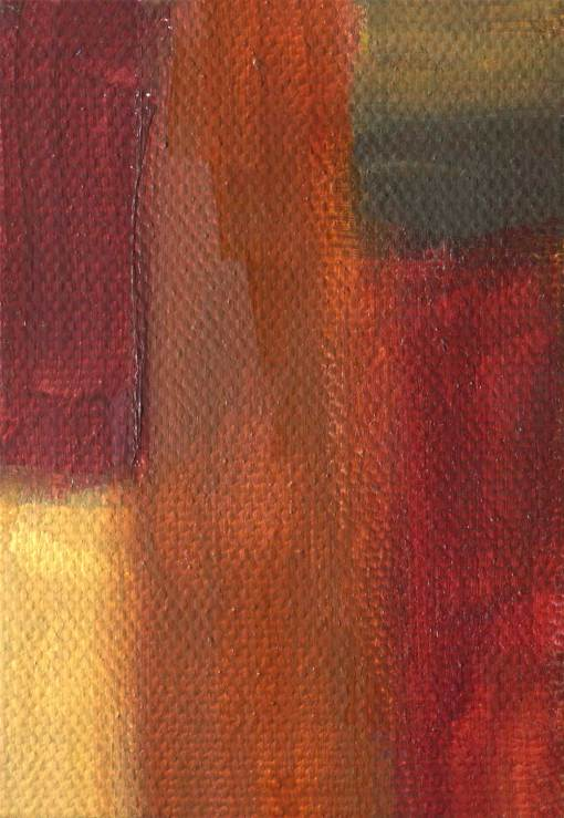 warm spice abstract canvas