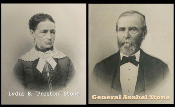 Lydia Stone and General Asahel Stone