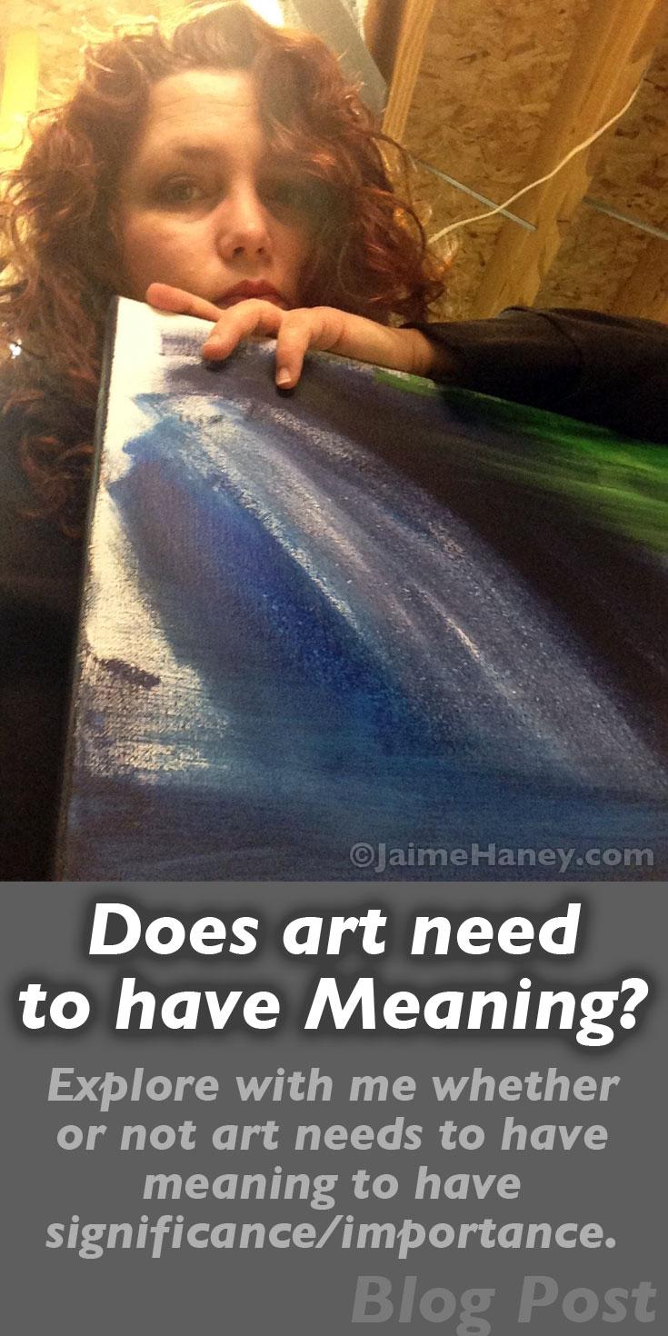 artist holding canvas