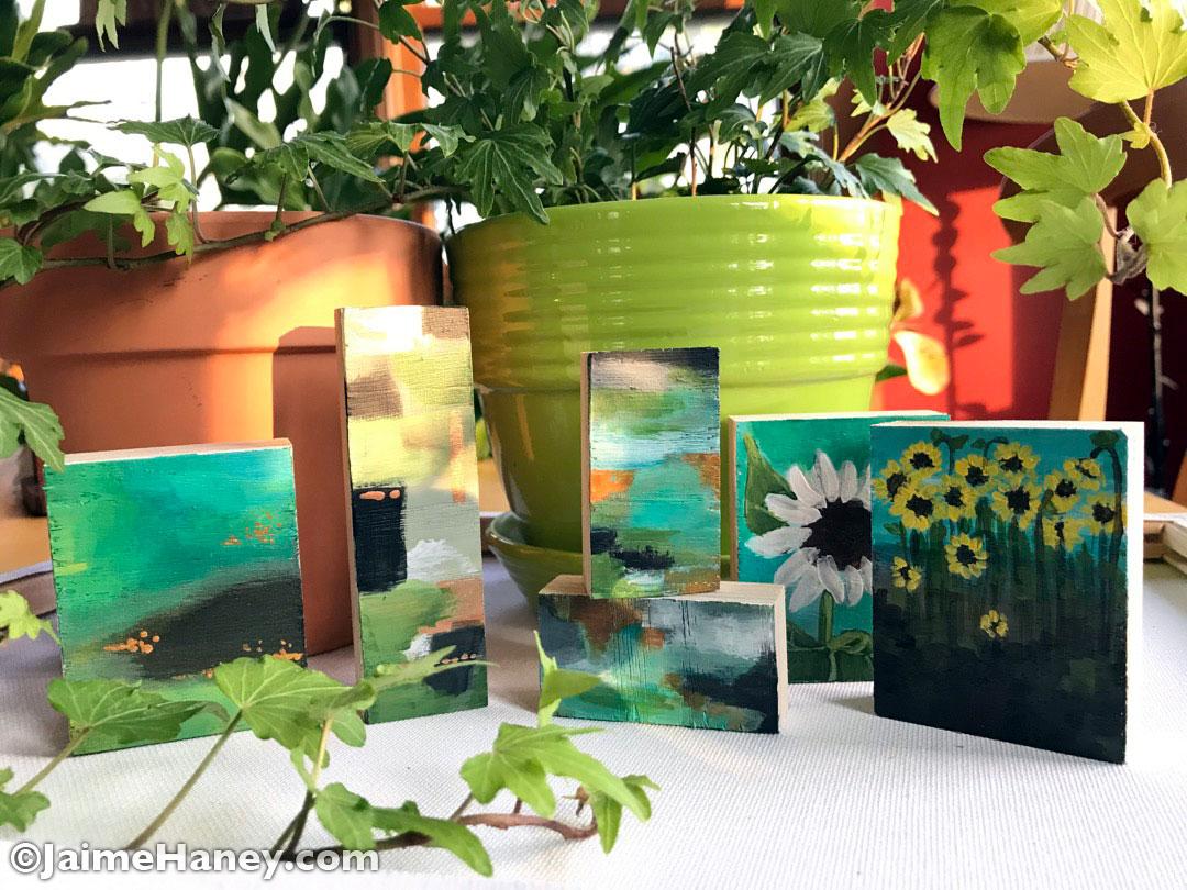 Sunflower Art Block Collection