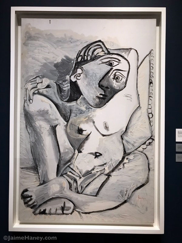 Woman with a Pillow by Picasso