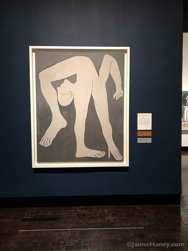 The Acrobat by Picasso