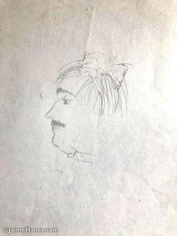 Sketch of Dad