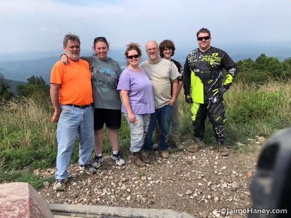 The gang at Windrock