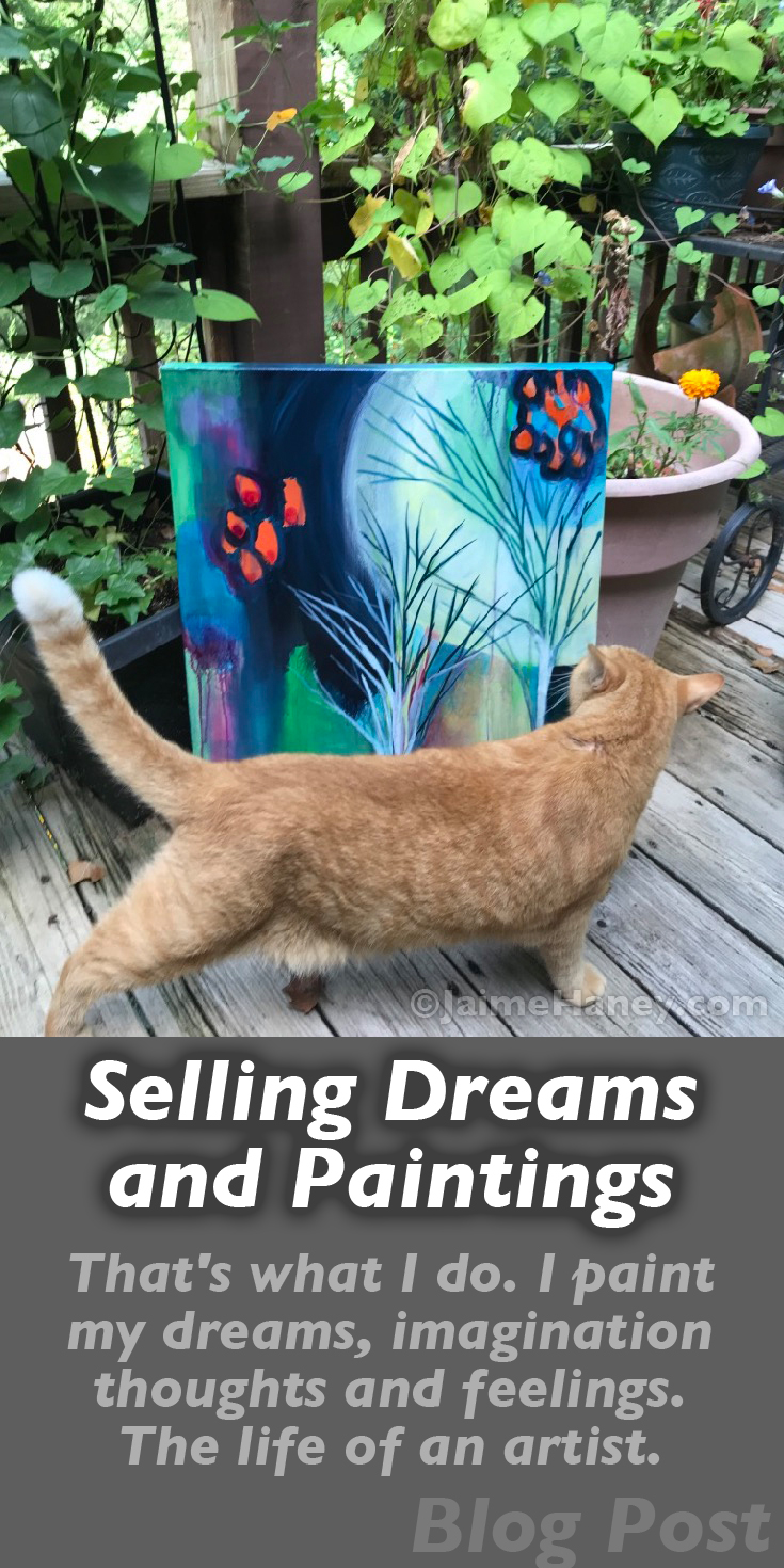 selling dreams and paintings