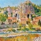 Balazuc village
