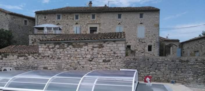 gite avec piscine en Ardèche méridionale