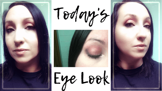 makeup eye look