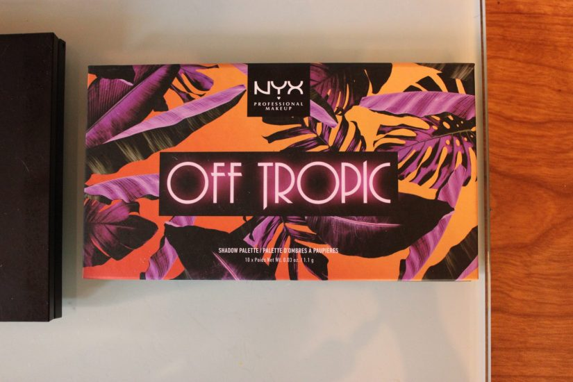 NYX Off Tropic Palette