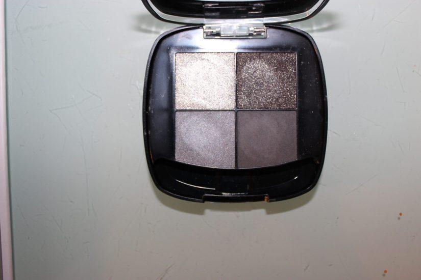 Loreal silver eye shadow quad