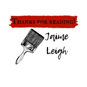 Jaime Leigh Thanks for Reading