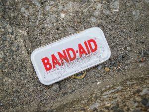 band aid photo