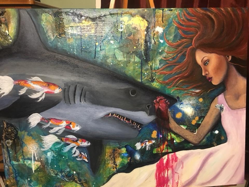 artist's style shark