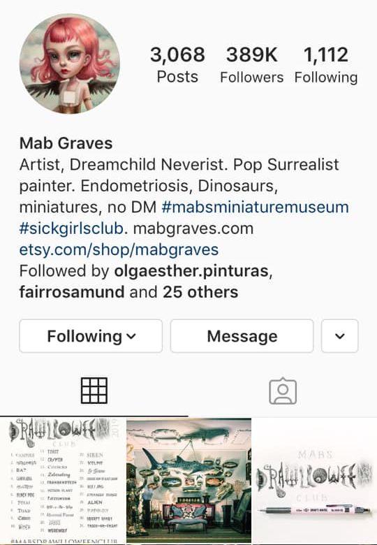 instagram artist mab graves