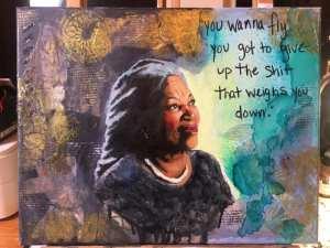 Toni Morrison inspiration