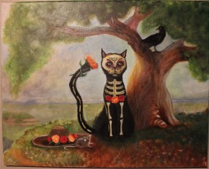 Muerte Cat and Mouse prompt Inspiration