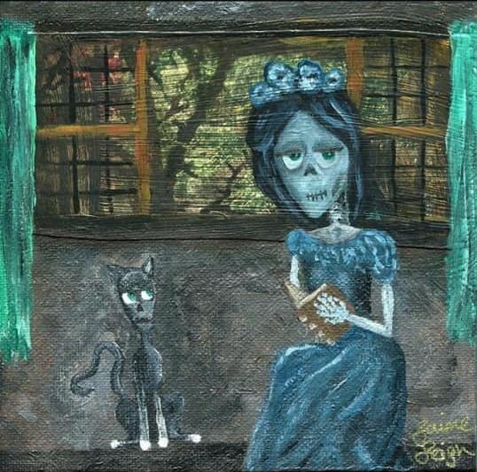 Skull Lady Day 6